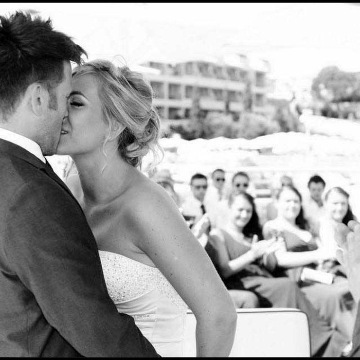 Emma's Algarve beach wedding