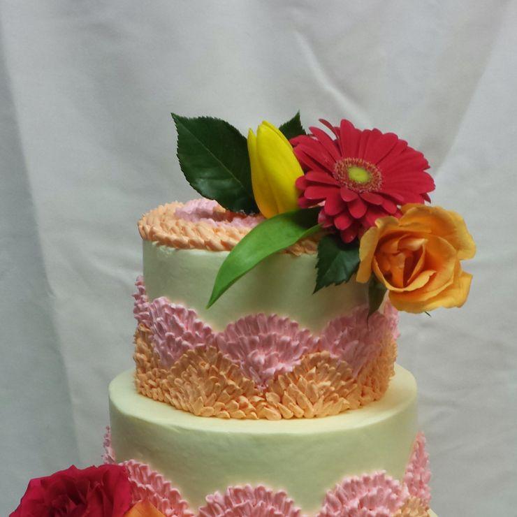 Ruffel cake