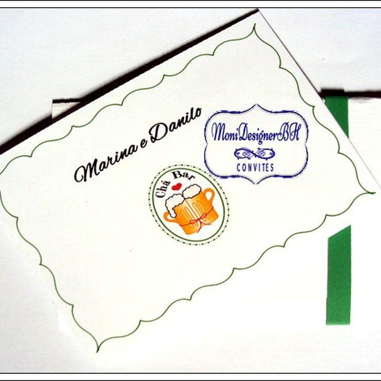 Convites Artesanais Exclusivos de Chá