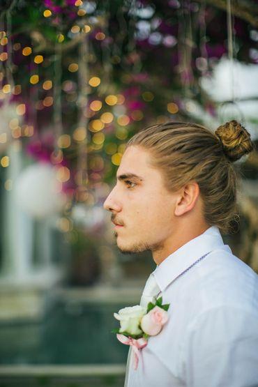White groom style