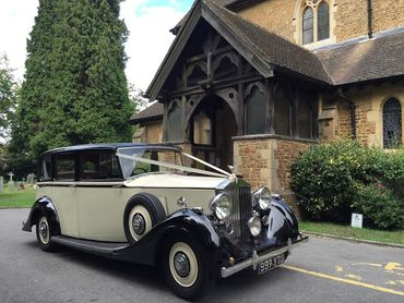 Ivory wedding transport