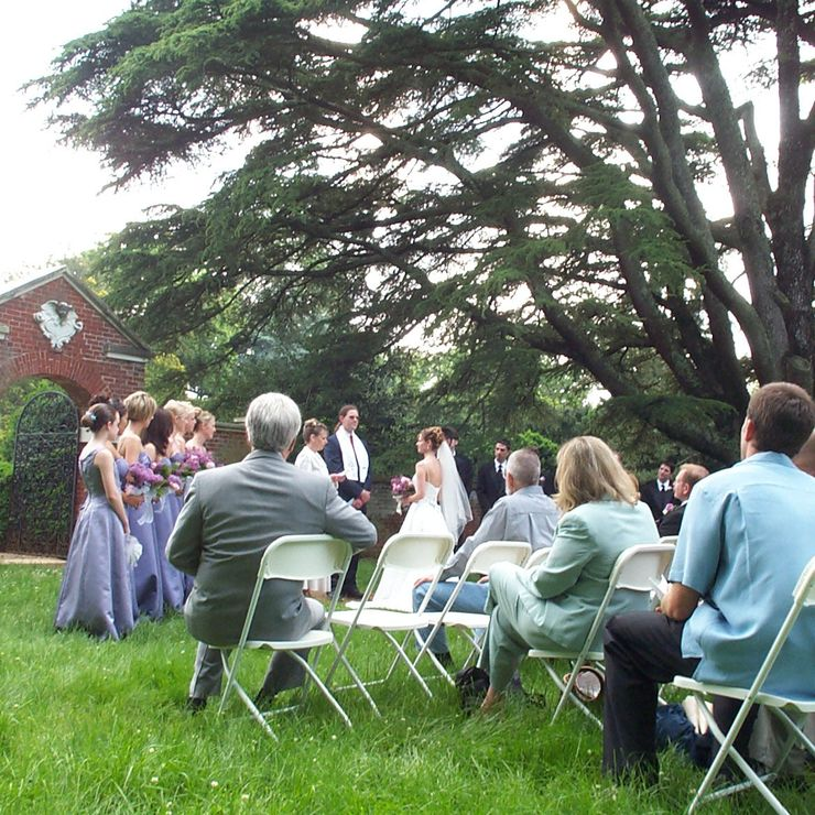 A wedding at Montpelier