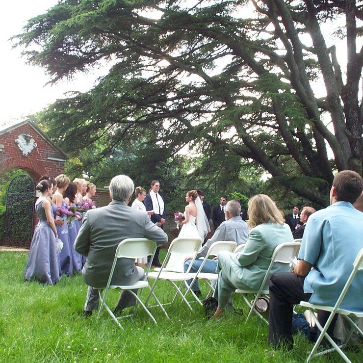 A wedding at Montpelier