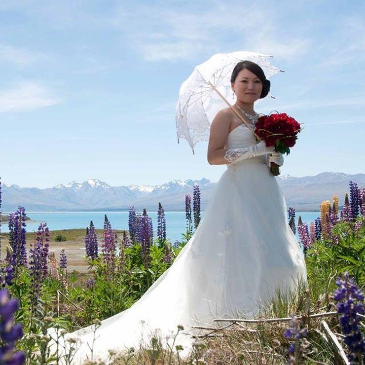 Tekapo wedding