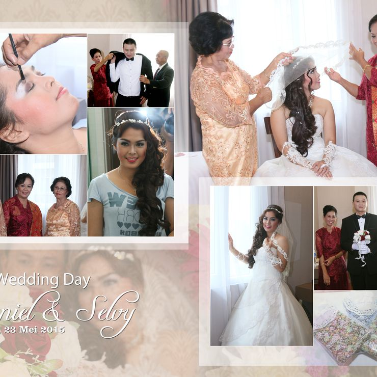 Daniel & Selvy Wedding Day