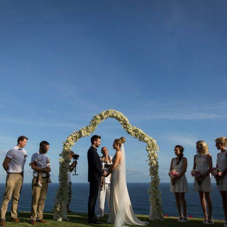 Vintage Cliff Top Wedding