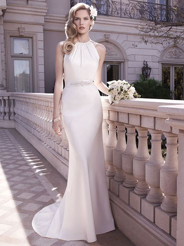 White long wedding dresses