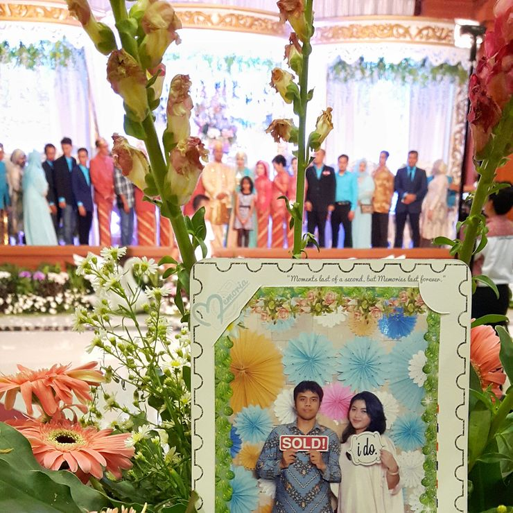 Aghnia & Alfian wedding @TMII
