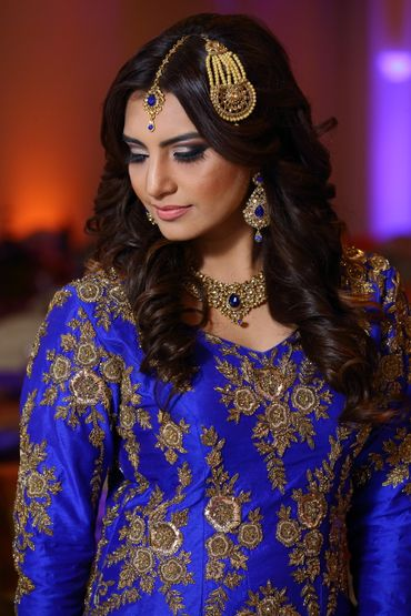 Ethnical bridal hair and make-up