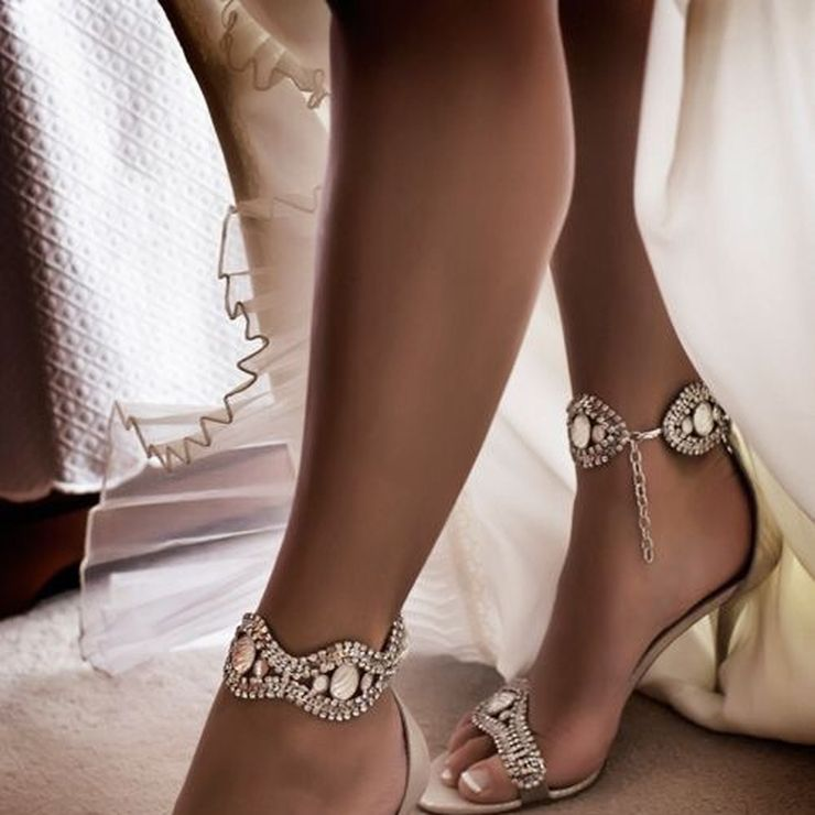 Wedding Day Shoe Ideas