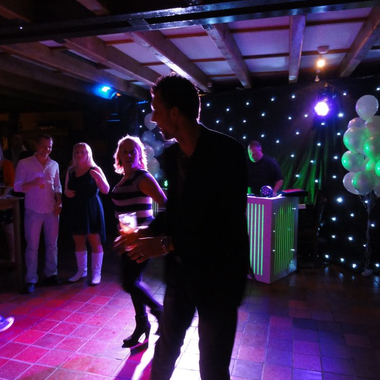 Impressions of Wedding DJ's by BSS Events