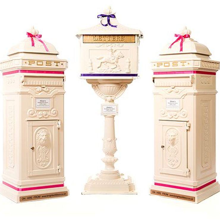 Dianes wedding post boxes