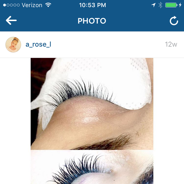 Makeup and lash extensions
