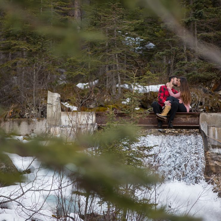 Canmore engagment
