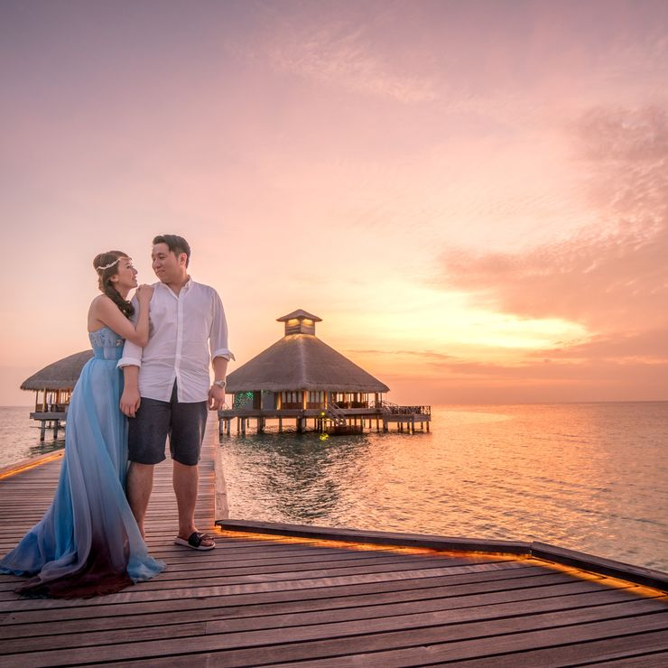 Maldives Wedding & Pre-Wedding