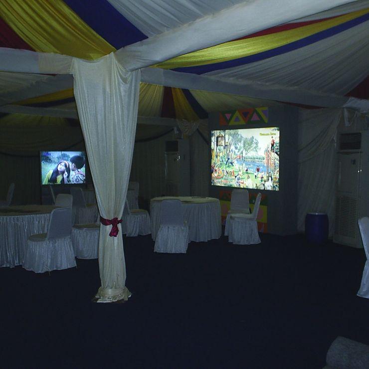 Rental Tenda Roder Dekorasi VIP Event Monas Jakarta