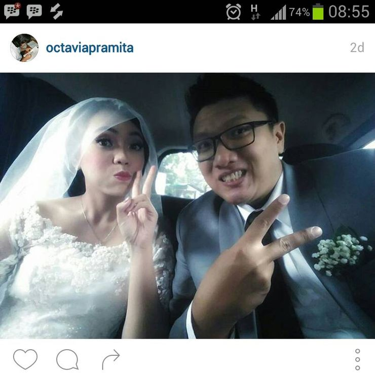 Tyas & Bram wedding