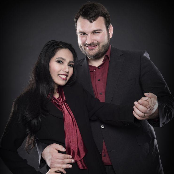 Nita & Sebastian Post Wedding Studio Photoshoot