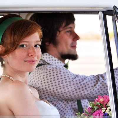 Vintage wedding photo session ideas