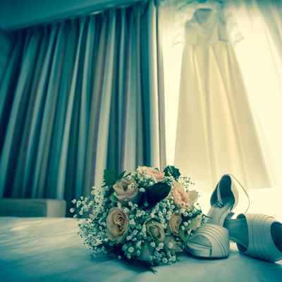 Overseas wedding shoes