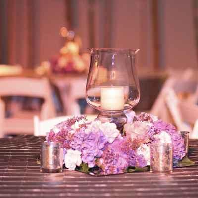 Overseas ivory wedding reception decor