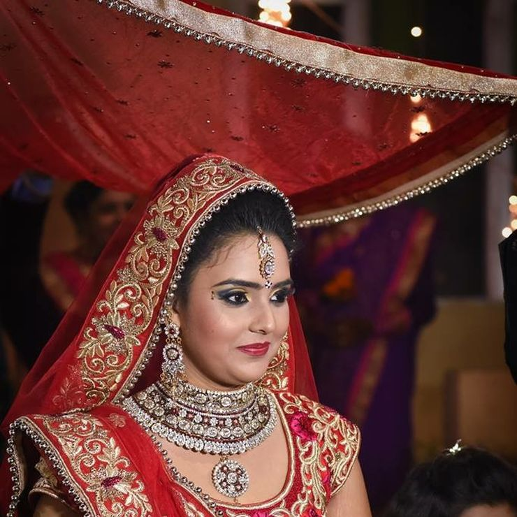 Deepshikha wedding makeup