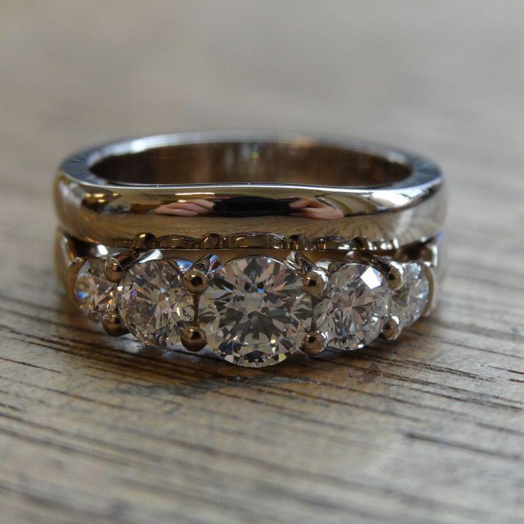 Bridal Set, Recycled Metals and Australian Diamonds