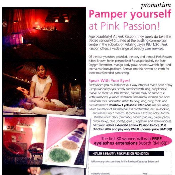 pink passion news