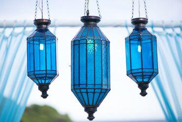 Outdoor blue