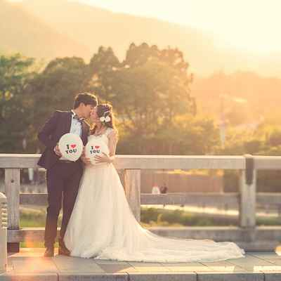 Ivory outdoor long wedding dresses