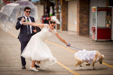 Ivory outdoor short wedding dresses
