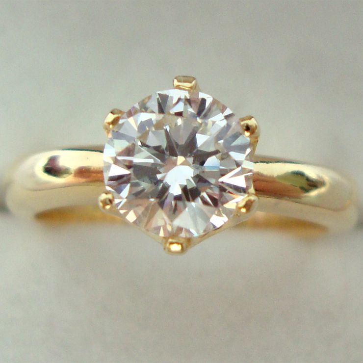 1carat Solitaire Diamond
