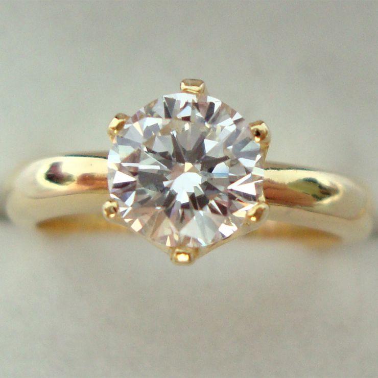 1carat Solitaire Diamond