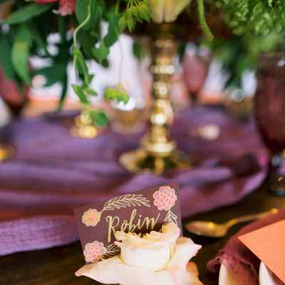 Red overseas wedding reception decor