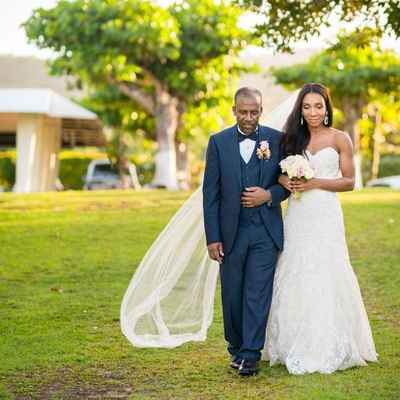 White american long wedding dresses